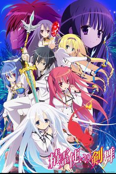 Crunchyroll - Bladedance of Elementalers Full episodes streaming online for free