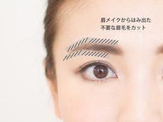 最新・失敗しない眉カット方法   玉村麻衣子オフィシャルブログ「まゆげの時間」Powered by Ameba Beauty, Cosmetology