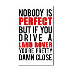 Land Rover Owners Sticker (Rectangle)