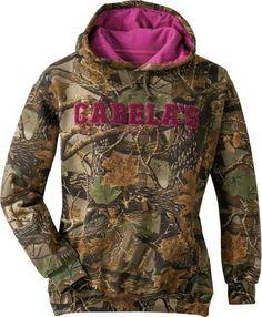 Cabela's Women's Campus Hooded Sweatshirt-Camo