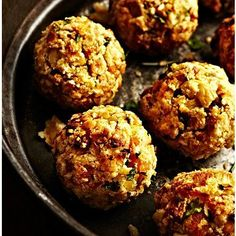 Apricot and Chestnut Stuffing Balls recipe - From Lakeland