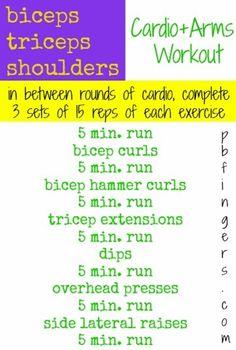 Cardio   Arms Workout