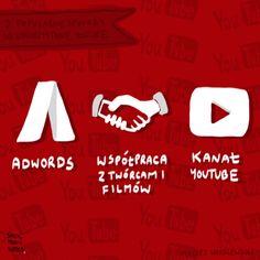 """Trio działań marketingowych na YouTube - infografika przygotowana do naszego tekstu przez Social Media Notes. Przypominamy nasz artykuł """"3 sposoby na marketing na YouTube"""" - http://sprawnymarketing.pl/youtube-marketing/"""