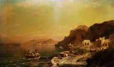 Isola di Capri - (Franz Richard Unterberger)