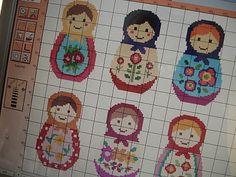 cupcake cutie: Free Babushka cross stitch pattern