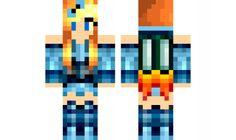 minecraft skin Girl-MinecraftUniverse