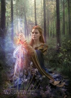 Guinevere by Phatpuppy Art on 500px | woman with a sword | forest magic
