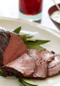 Black & Blue Beef Tenderloin – For dinner, serve with a baked potato and ½ cup steamed vegetables to round out the meal.