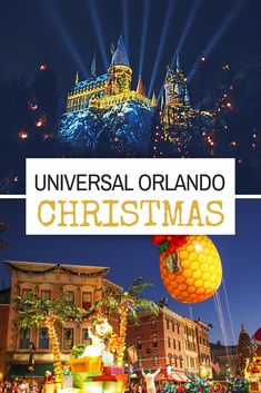 Celebrate the holidays and Christmas At Universal Orlando with the Macy's Parade, Hot Butterbeer, shopping in Diagon Alley, and the light show at Hogwarts. Luxury Travel, Travel Usa, Disney World Christmas, Christmas 2019, Universal Orlando, Universal Studios, Holiday Travel, Winter Travel, Diagon Alley