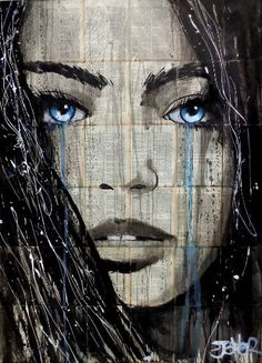 "Saatchi Art Artist LOUI JOVER; Drawing, ""winter song"" #art"