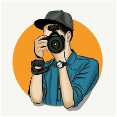 Baby Cartoon Drawing, Cute Cartoon Boy, Cute Cartoon Pictures, Cute Love Cartoons, Camera Wallpaper, Joker Hd Wallpaper, Cartoon Wallpaper Hd, Best Photography Logo, Boy Photography Poses