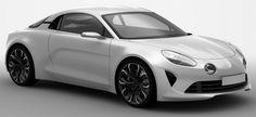 photo du nouveau concept-car Alpine