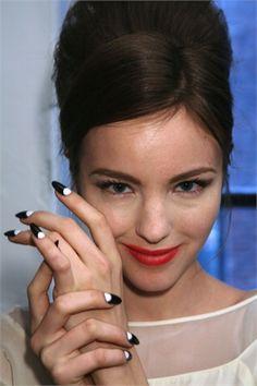 Penguin nails ❤️