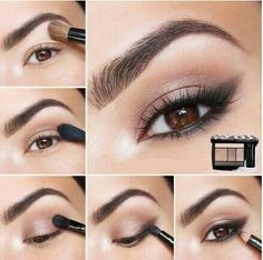 make para olhos castanhos I