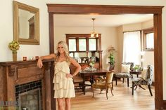 Nicole Curtis Rehab Addict -Dollar House-     AFTER #interior #design #Ariel Photography