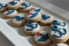 Cookies at a Nautical Party #nautical #party