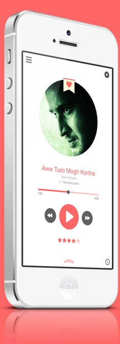 Music Player UI Designs and Concepts for Inspiration