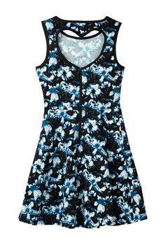 Penelope Tree Carrie Flower Dress (Big Girls)