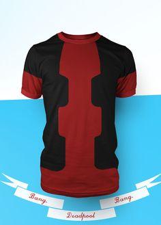 Deadpool T-Shirt by ~prathik on deviantART