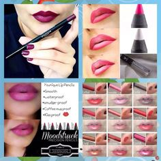 Which Precision Lip Liners and Lucrative Lip Glosses are right for you??  Shop here!! www.YourLashAndGlossLady.com