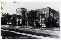 Lake Wales High School 193(?) by Lake Wales Public Library Archives, via Flickr