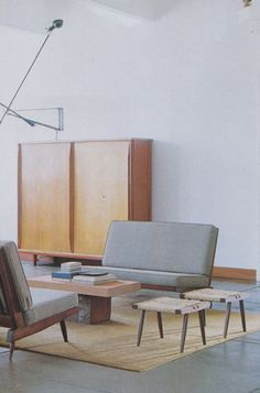 Mid-Century Modern interior design and artistry