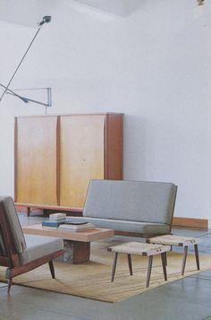 Mid-Century Modern interior design and artistry
