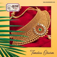 Gold Earrings Designs, Gold Jewellery Design, Silver Jewellery, Necklace Designs, Indian Jewelry Sets, India Jewelry, Bridal Jewelry Sets, Bridal Chuda, Gold Jewelry Simple