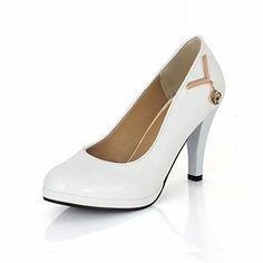Carol Shoes Women's Casual Fashion High Heel Pendant Charm Pumps Shoes (4.5, White) Carol Shoes http://www.amazon.co.uk/dp/B00PMU2ALU/ref=cm_sw_r_pi_dp_vD1avb0J90DCB