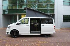 2012 12 Reg Volkswagen T5 Transporter Brand New Camper Van Motorhome Conversion, Crash-Tested Bed