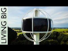 Insane Futuristic Man Cave - The Skysphere - YouTube