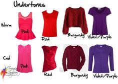 How to Pick Colour Undertones