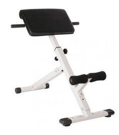 Rugtrainer Hyperextension  Rugklachten onderrug en lage rugpijn? Wat te doen bij rugpijn? Lage rugpijn oefeningen? rugspieren trainen Gym Equipment, Workout Equipment