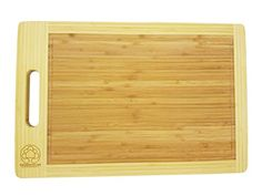 Organic Bamboo Cutting Board Wooden Chopping Antimicrobial Wood Food Prep Table Fda Roved Grade