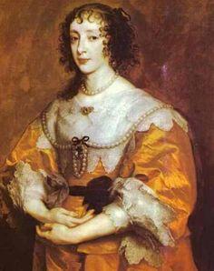 van dick- enrichetta maria di borbone regina d'inghilterra
