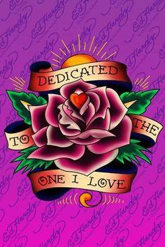 604e1219fc Ed Hardy dedicated to the one I Love…