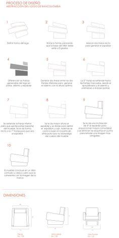 Proceso de Diseño de Proyecto diseño sillón para sala de espera en entidades bancarias, en el caso especifico de Bancolombia en la Materia Diseño de Mobiliario Diseñada por Laura Daniela López Acevedo, Valentina Mendoza Katerine Garcia Ruiz,