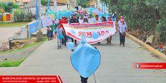 SE REALIZÓ MARCHA DE SENSIBILIZACIÓN POR DÍA MUNDIAL DEL AGUA   Municipalidad Distrital de Maranura