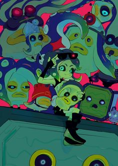 Splatoon 2 Game, Splatoon Memes, Nintendo Splatoon, Splatoon Comics, Squid Games, Video Game Characters, Monster Girl, Mood Pics, The Expanse