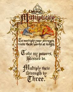 "Book of Shadows: ""Charm Of Multiplicity,"" by Charmed-BOS, at deviantART. I loved this show Halloween Spell Book, Halloween Spells, Halloween Fun, Charmed Spells, Charmed Book Of Shadows, Charmed Tv, Wiccan Witch, Magick Spells, Wiccan Magic"