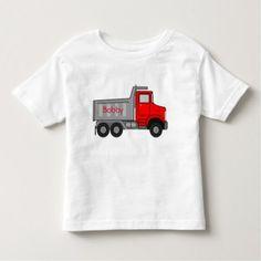 Autism Puzzle Big Truck NAME Tagless T-shirt 4-5T - kids kid child gift idea diy personalize design