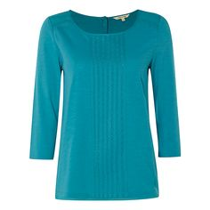 Buy White Stuff Millie Jersey T-Shirt, Teal, 8 Online at johnlewis.com