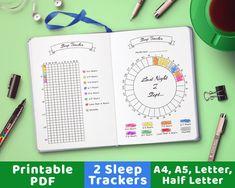 Bullet Journal Trackers de sommeil le sommeil de suivi