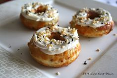 Everything Mini Bagels--low carb, gluten free, grain free