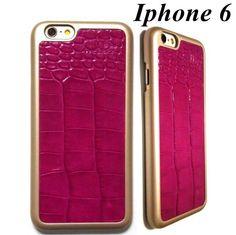 ピンクのクロコダイル模様!高級感 ドイツデザイン iphone 6ケース 海外ブランド コーデの画像 | 海外セレブ愛用 ファッション iphoneケース iphone6 6プ…