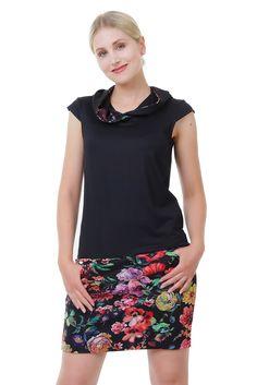 Kapuzen Kleid Sommer Hoodiekleid made in Berlin Blumen Hoodie Sommerkleid