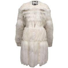 Prabal Gurung Mixed Fur Coat ($2,998) ❤ liked on Polyvore featuring outerwear, coats, fur, jackets, abrigos, women, fox coat, pink fur coat, fox fur coat and prabal gurung