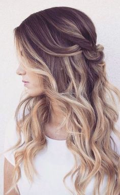 Wedding hairstyle idea; Featured Hairstyle: Hair and Makeup by Steph, Via Mon…