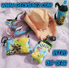 Go to https://www.deckbagz.com for Summer Fun Accessories & SUP deck bags.  #retrostyle #sup #kayak #supnation #paddleboarding  #supdeckbags #deckbags #kayakbags #tropicalbags #neoprenebags #supgear #madeinusa #floridagrown