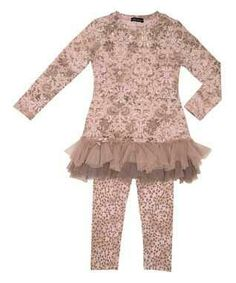 39dbadde3ff6 Zulily.com Tunic Leggings, Leopard Leggings, Girls In Leggings, Damask, Lace